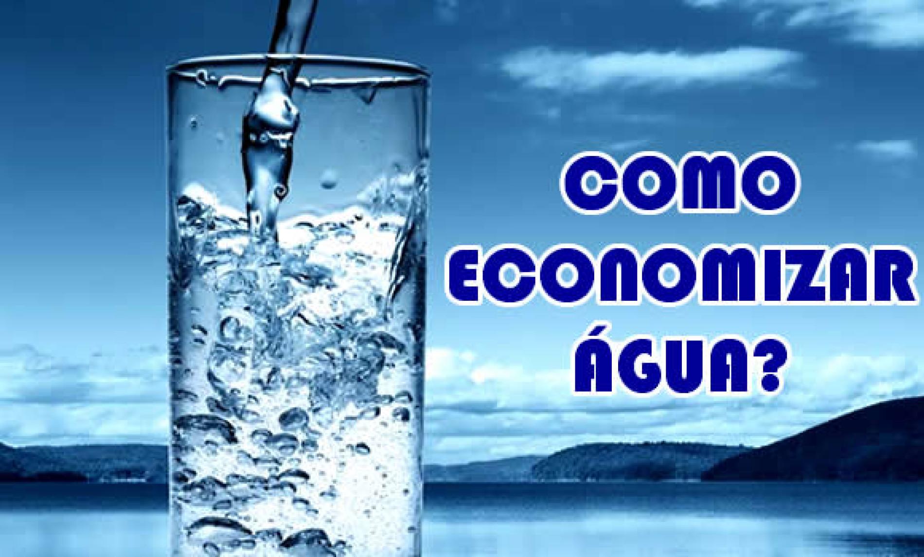 Como fazer para economizar Água