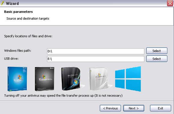 como executar o WinToFlash windows pen drive