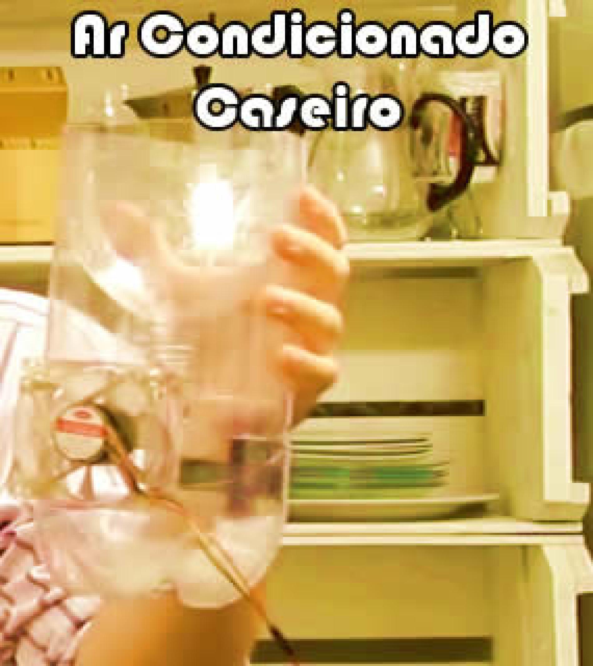 Como fazer um ar condicionado caseiro de garrafa pet