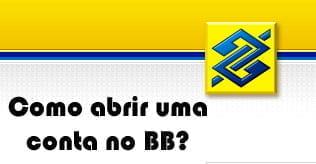 como fazer conta banco do brasil bb