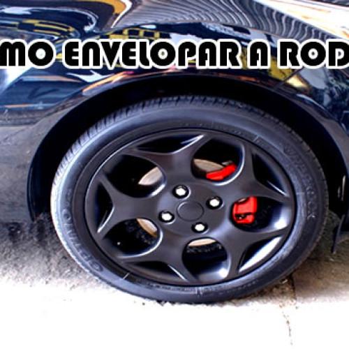 Como fazer para envelopar as rodas do carro