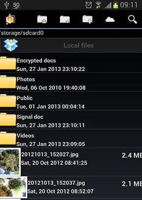 como fazer para compactar arquivos android androzip