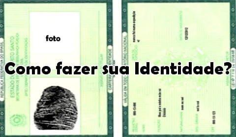 como fazer rg carteira de identidade