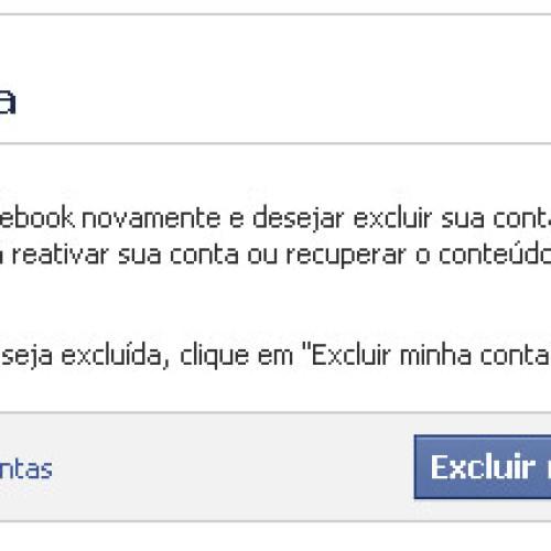 Como excluir facebook – Passo a passo para desativar sua conta