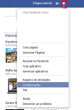 como excluir facebook