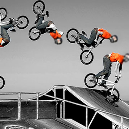 Como fazer Front flip Bike flip BMX