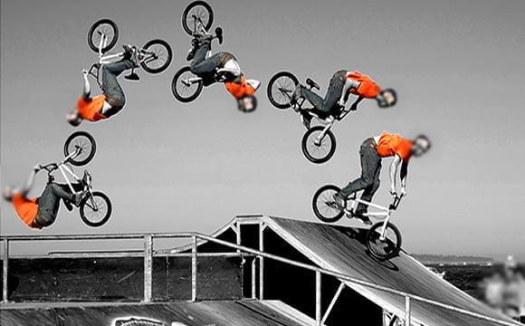 como fazer front flip bike flip bmx tutorial