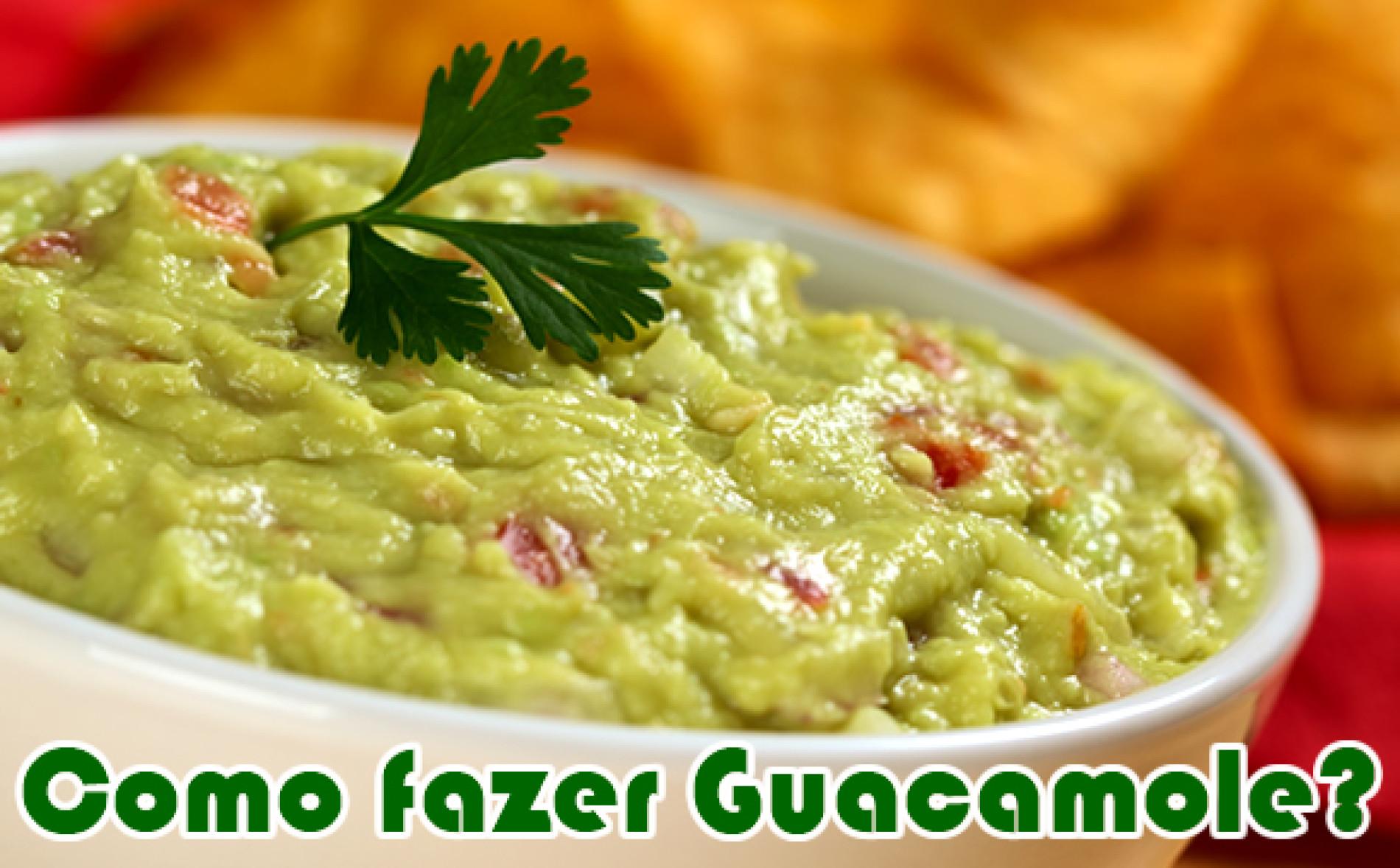 Como fazer Guacamole