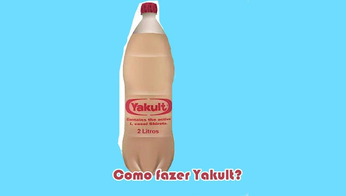 como fazer receita de yakult caseiro facil