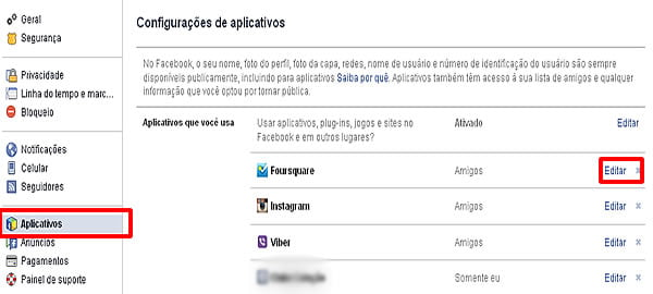 como excluir um virus facebook