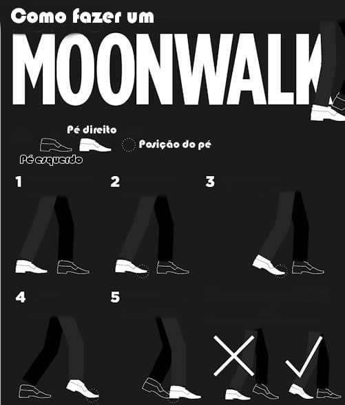 como fazer moonwalk 1