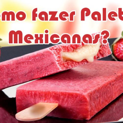 Como fazer um molde de Paleta Mexicana caseiro?