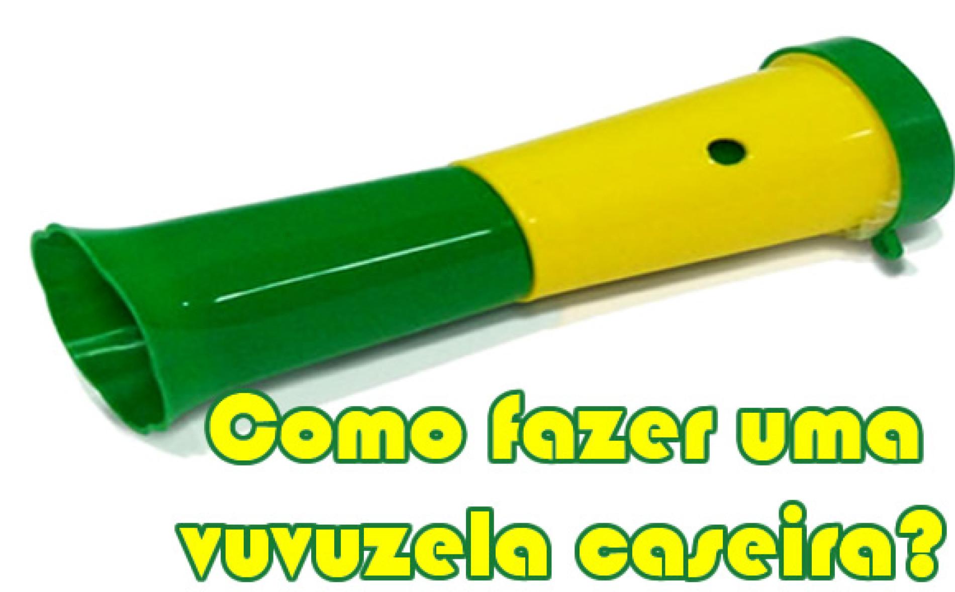 Como fazer uma vuvuzela caseira para a Copa do Mundo