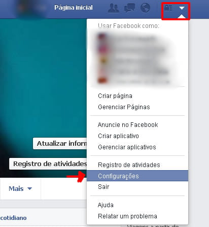 excluindo virus facebook