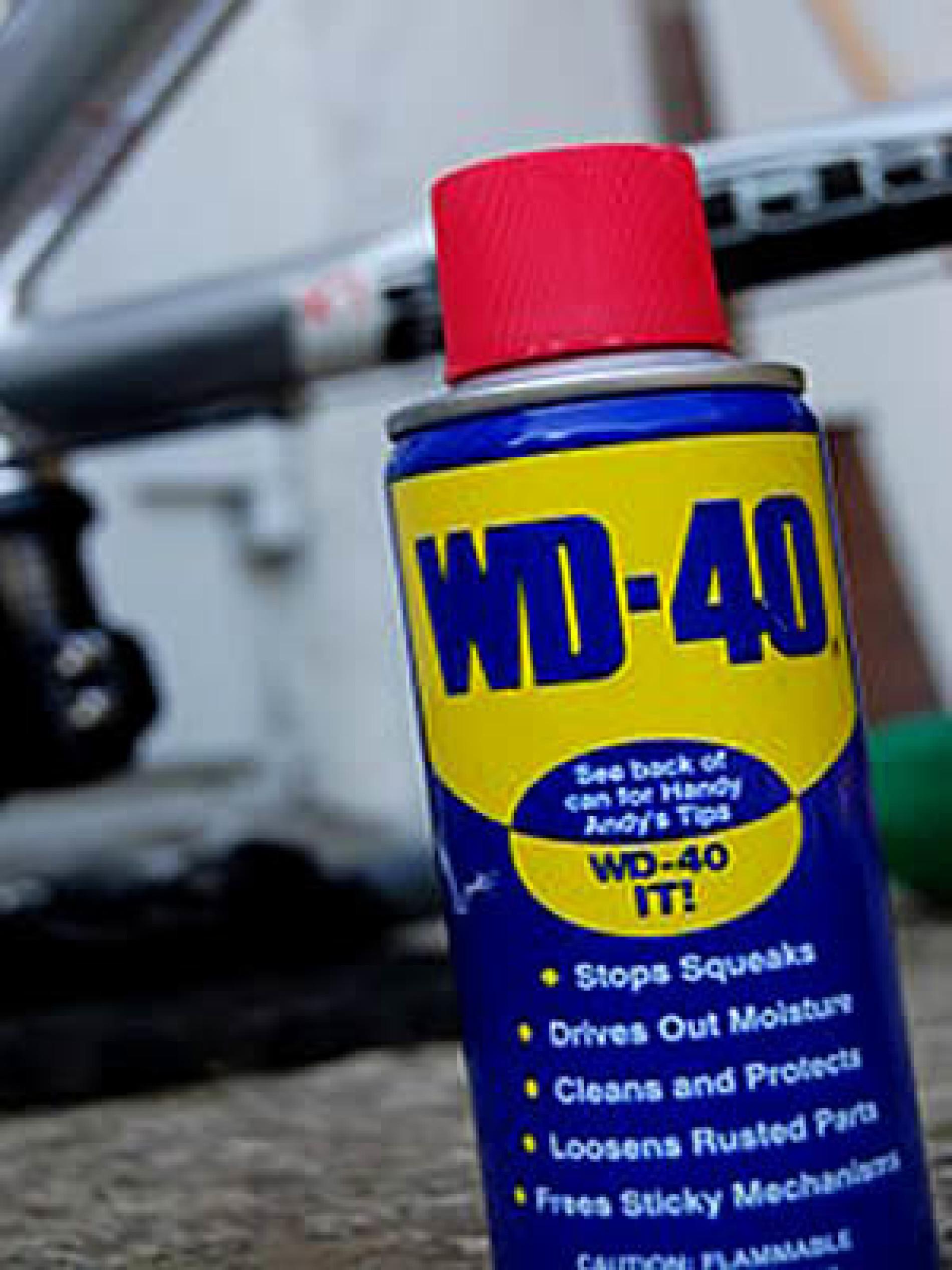 WD 40 – As 34 melhores utilidades que talvez você nem sabia!