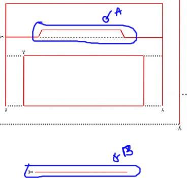 molde cartao 3d