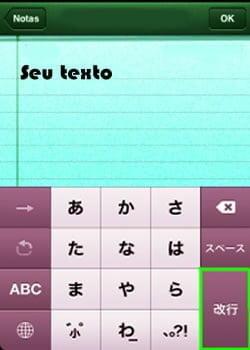 mudando fonte iphone letra