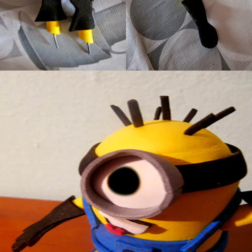 Como fazer um Minion de EVA Goma