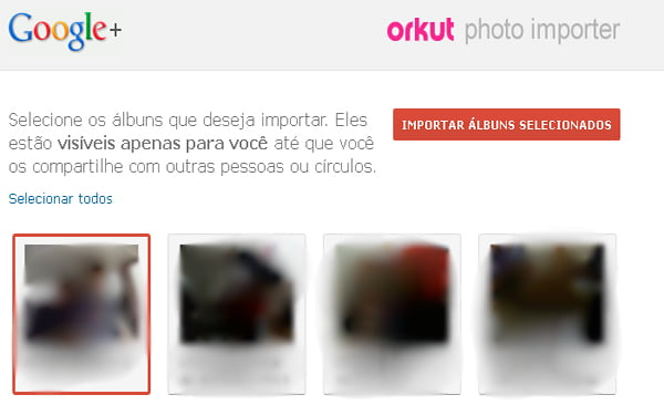 orkut photo importer
