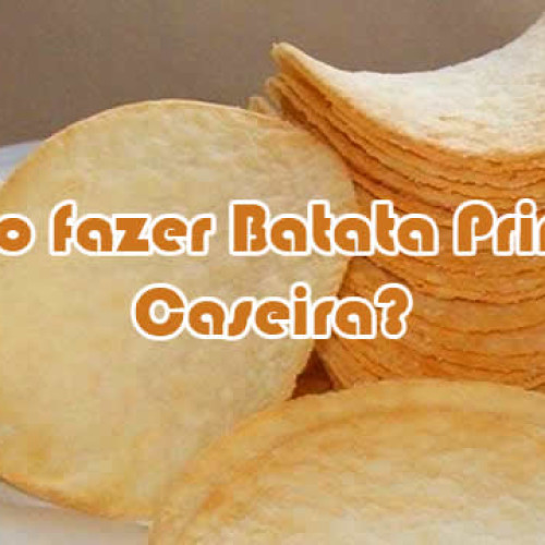 Como fazer batata Pringles caseira