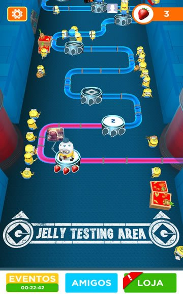 fabrica de gelatina minion rush despicable me