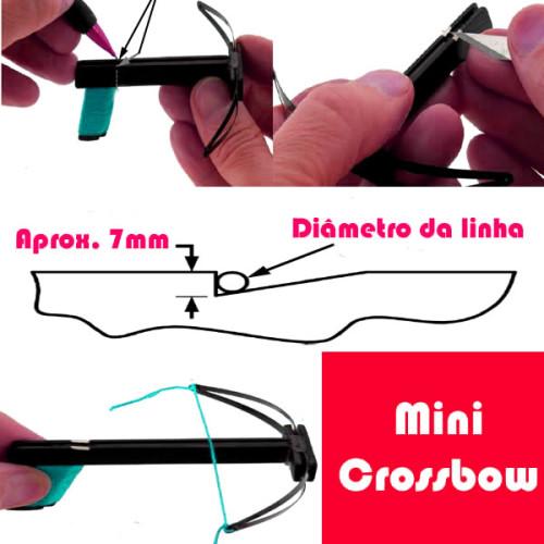 Como fazer uma mini Crossbow com elástico