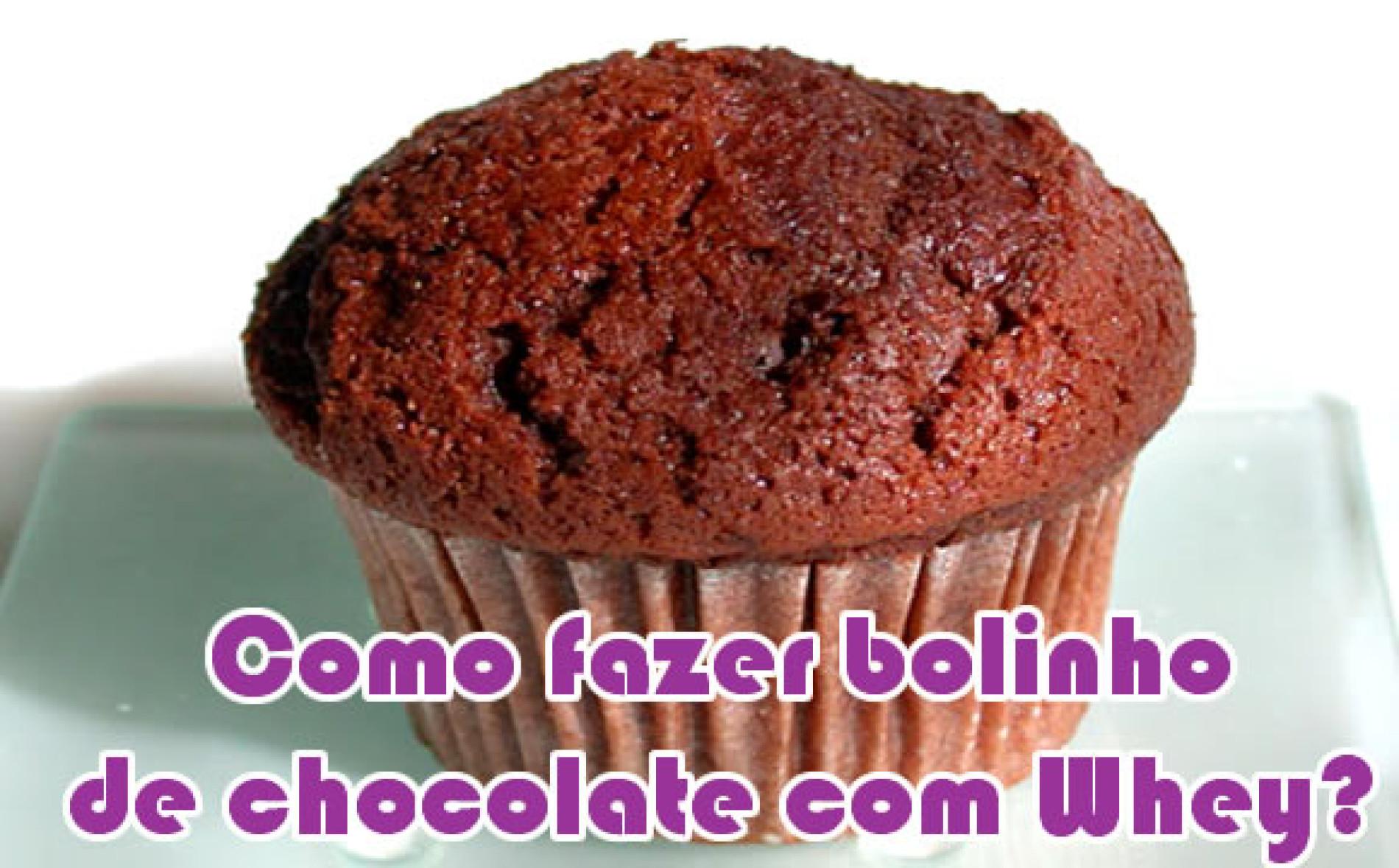 Como fazer bolinho de chocolate com Whey Protein
