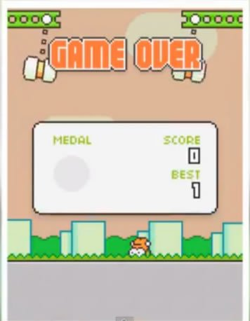 game over swing copters passo a passo