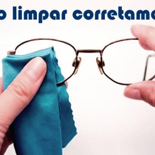Como fazer para limpar o óculos – lentes