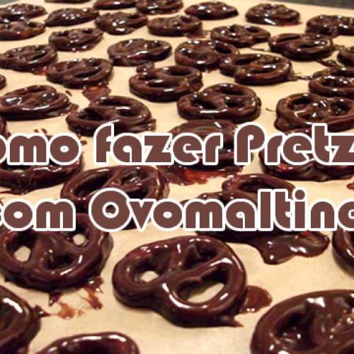 Como fazer Pretzel com Ovomaltine
