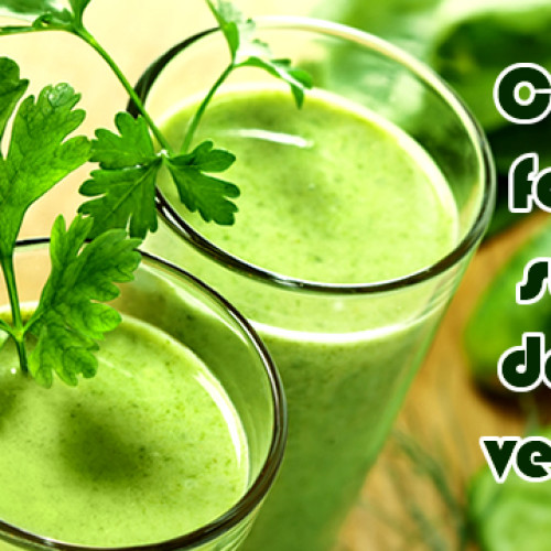 Como fazer Suco Verde Detox para emagrecer