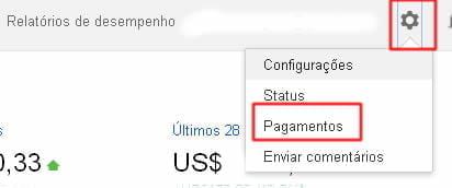 pagamentos google adsense banco rendimento
