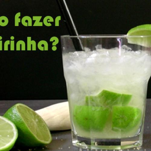 Como fazer caipirinha de limão com Vodka ou Cachaça