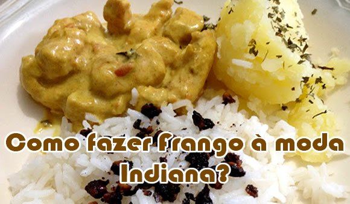 como fazer frango a moda indiana culinaria