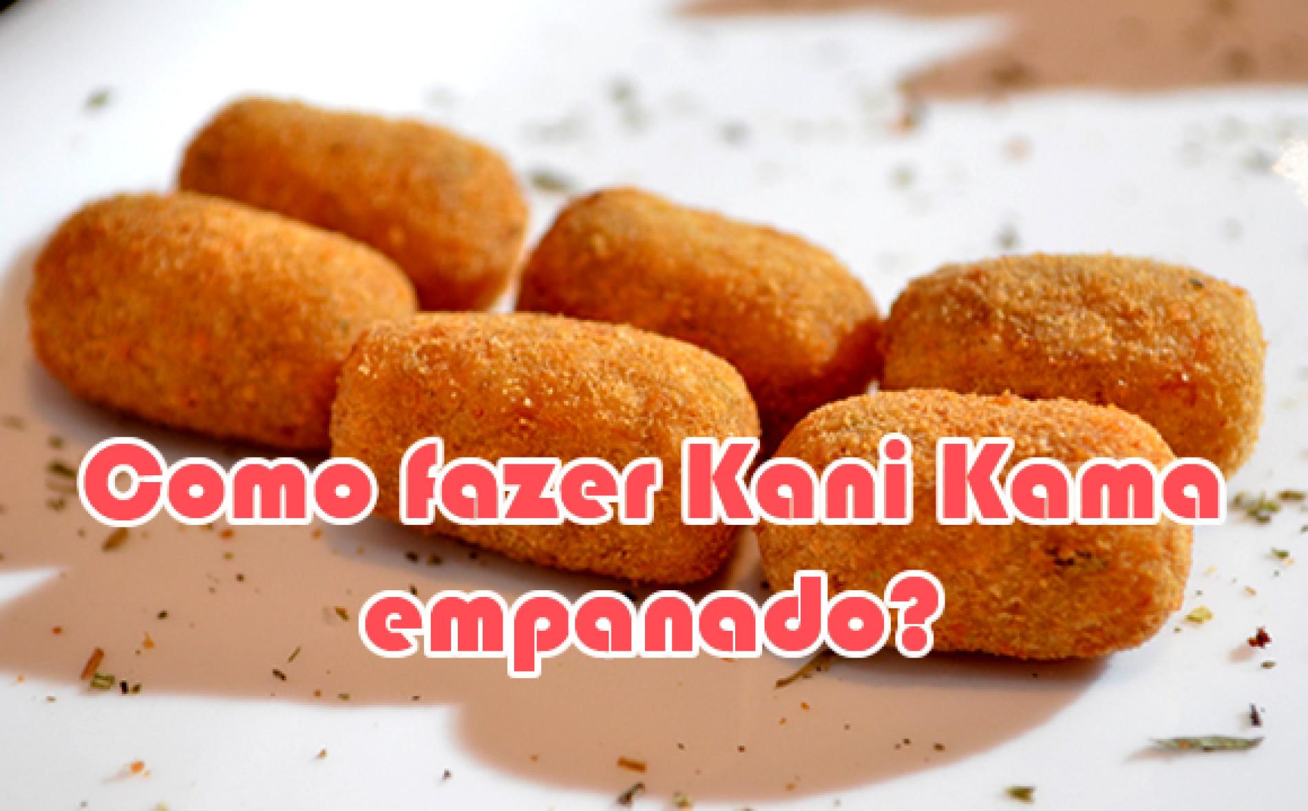 Receita de Kani empanado – Como fazer?