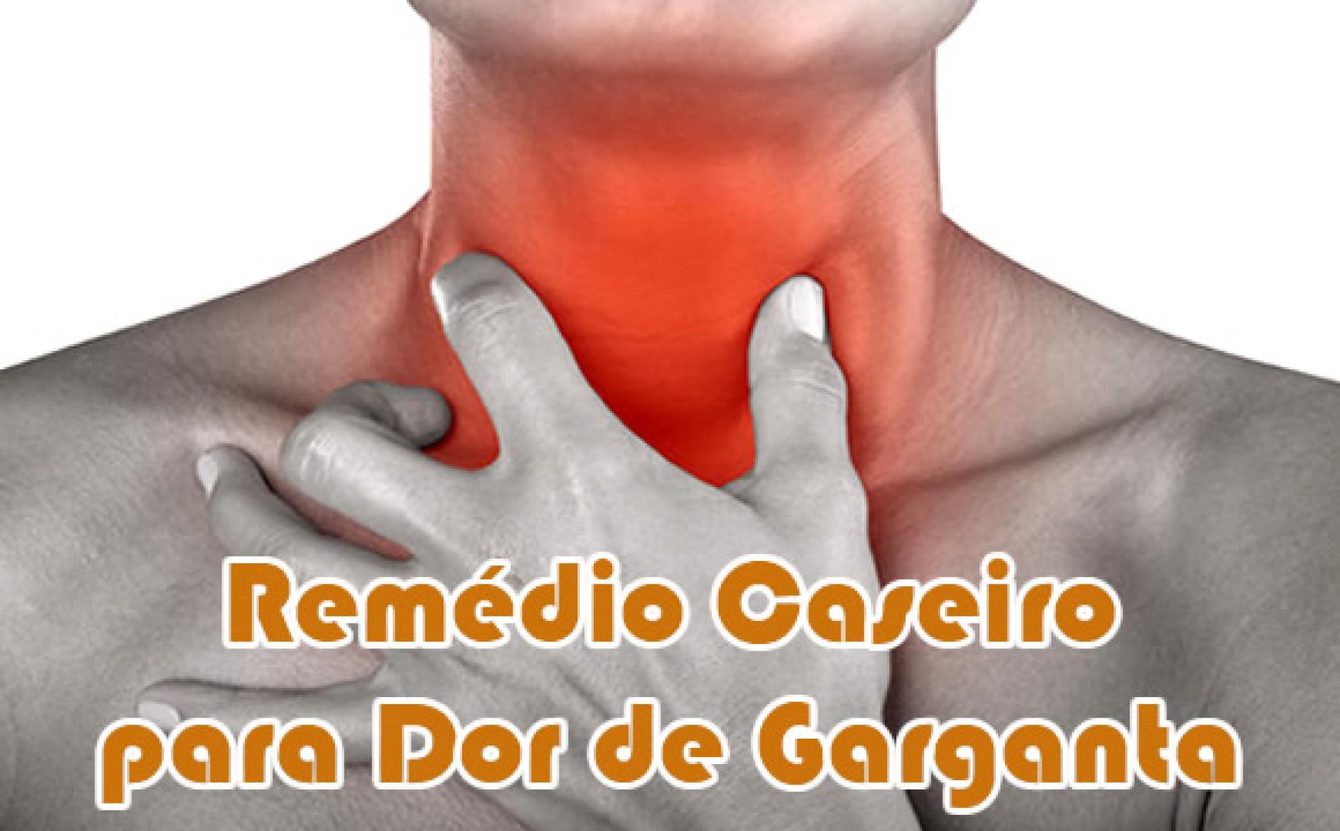 Como fazer remedio caseiro para dor de garganta