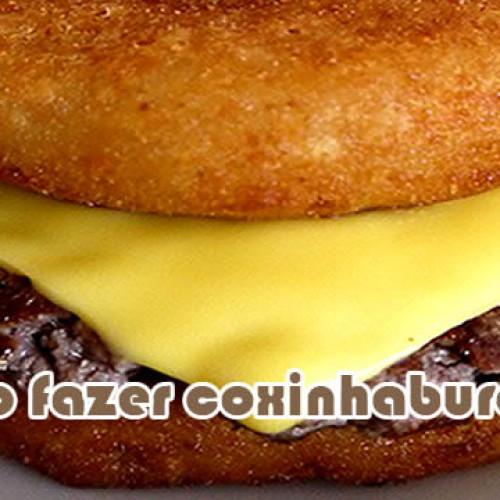Como fazer coxinhaburger o hamburguer de coxinha