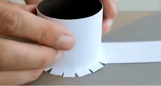cilindro negativo como fazer