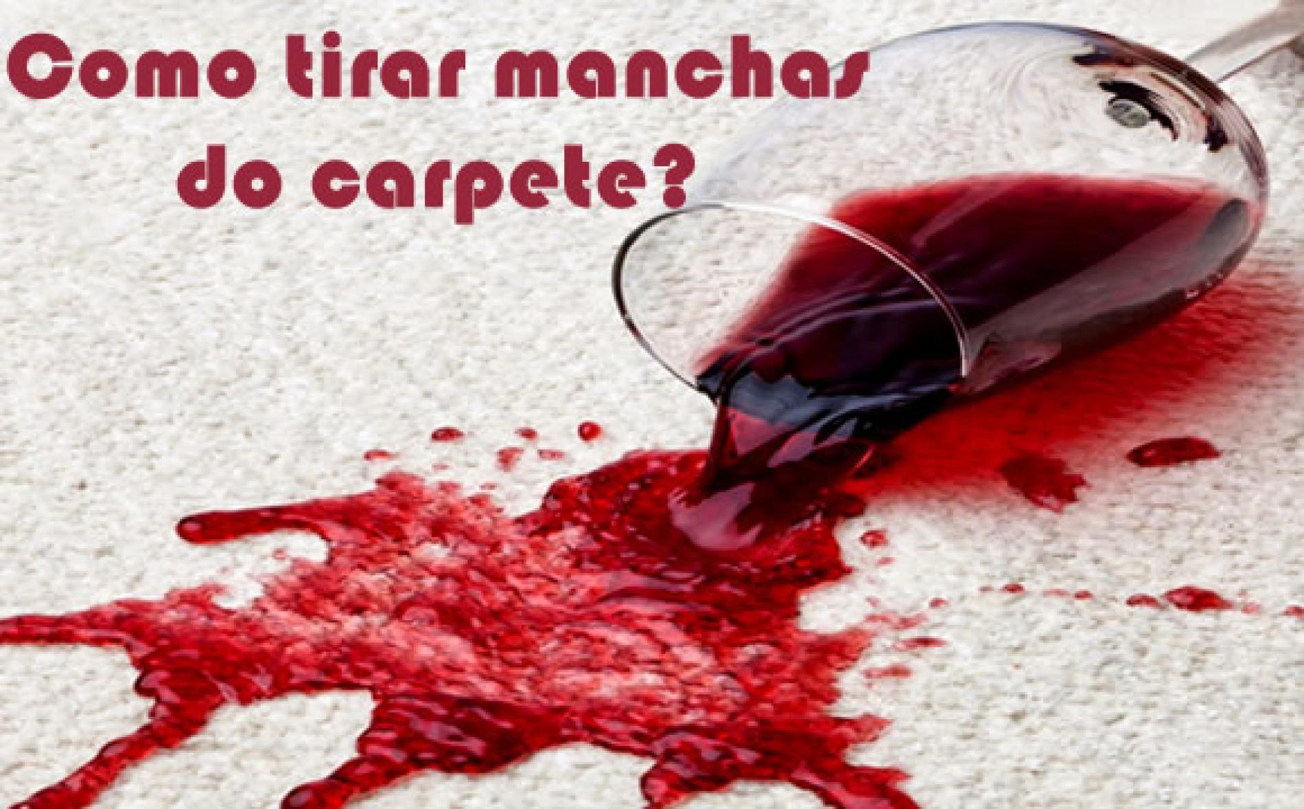 Como limpar manchas do carpete fácil