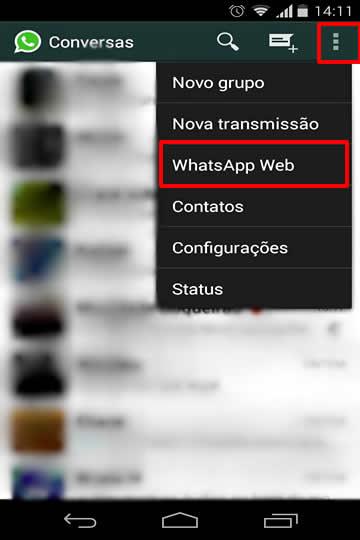 whatsapp no computador pc