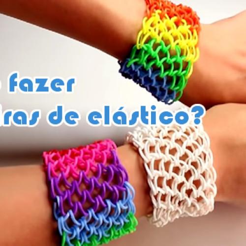Aprenda como fazer pulseira de elastico
