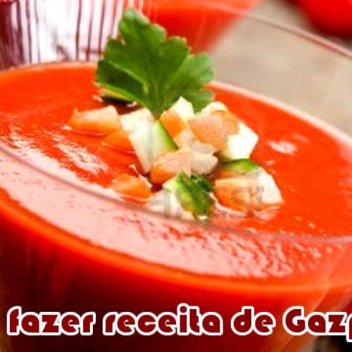 Receita de Gazpacho fácil
