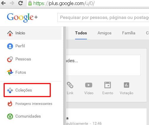 colecoes google plus rede social