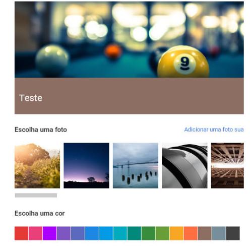 Coleções Google + Seus conteúdos por temas