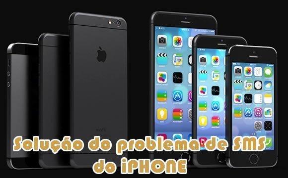 problema sms trava iphone