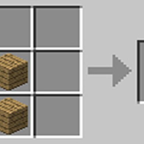 Como fazer bancada, mesa de trabalho no Minecraft