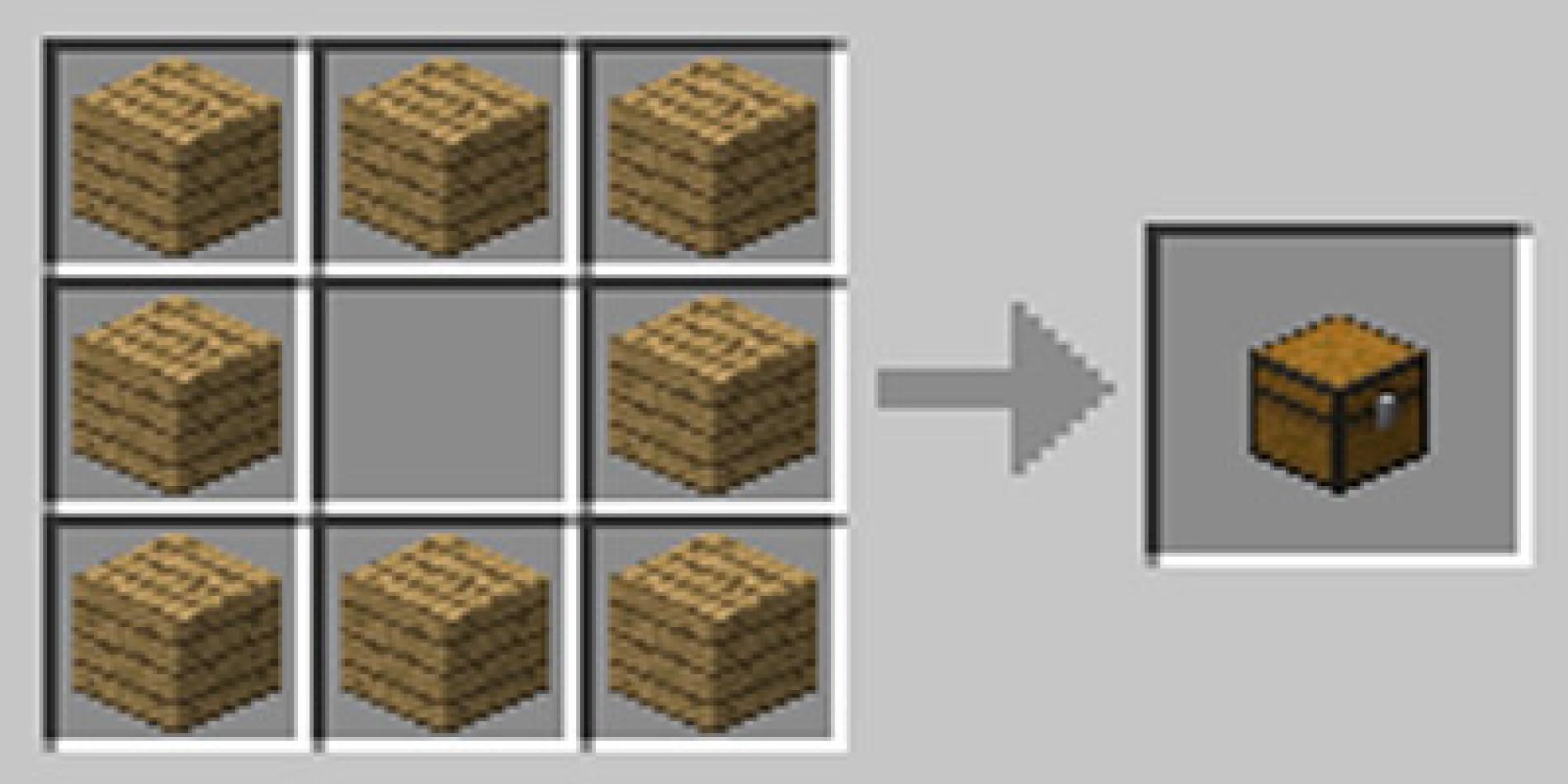 Como fazer bau chest no Minecraft