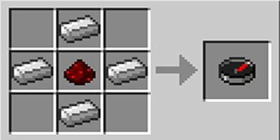 como fazer bussola compass no minecraft