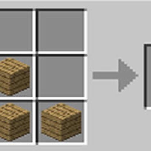 Como fazer escada stairs no Minecraft