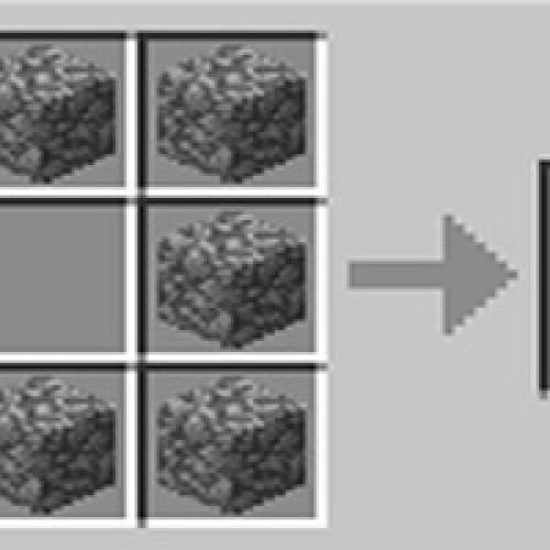 Como fazer fornalha furnace no Minecraft